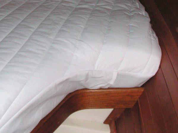 mattress pad corner