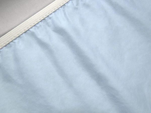 sheet bottom light blue