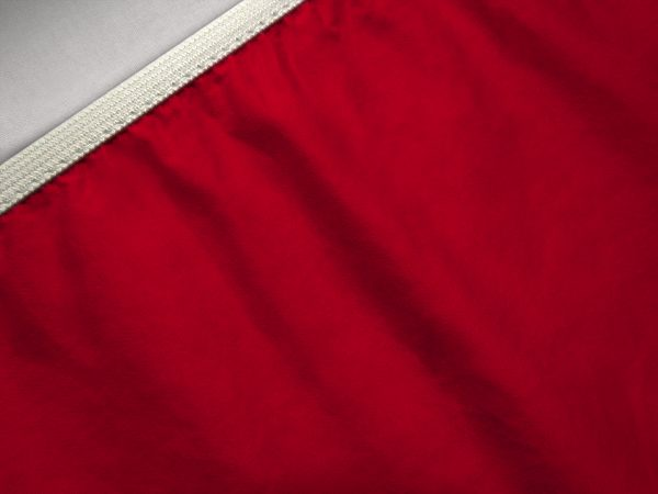 sheet bottom red