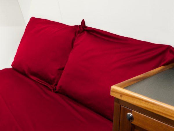 boat bed sheet sets red