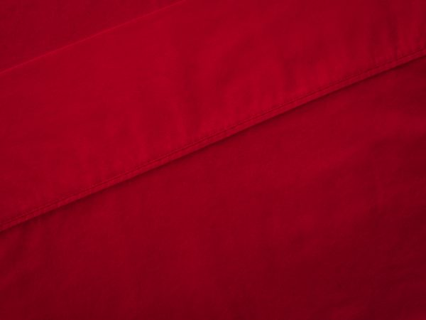 top sheet red